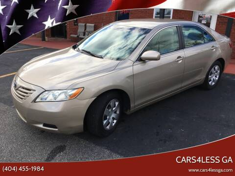 2009 Toyota Camry for sale at Cars4Less GA in Alpharetta GA