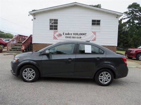 2017 Chevrolet Sonic for sale at J T Auto Group in Sanford NC