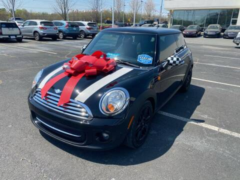 2012 MINI Cooper Hardtop for sale at Charlotte Auto Group, Inc in Monroe NC