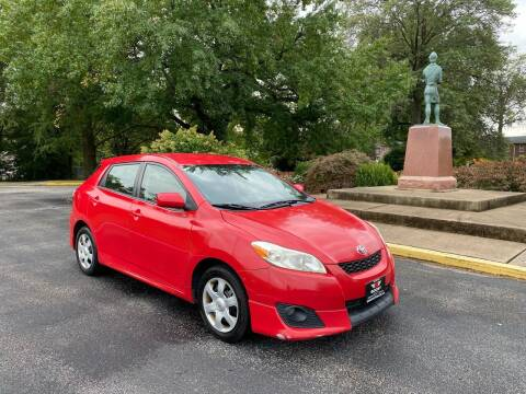 2009 Toyota Matrix for sale at BOOST AUTO SALES in Saint Charles MO