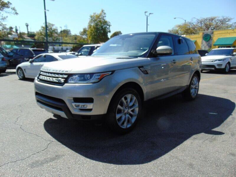 2015 Land Rover Range Rover Sport for sale at Santa Monica Suvs in Santa Monica CA