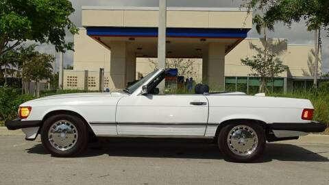1987 Mercedes-Benz 560-Class for sale at Premier Luxury Cars in Oakland Park FL