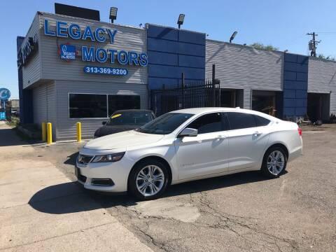 2014 Chevrolet Impala for sale at Legacy Motors in Detroit MI