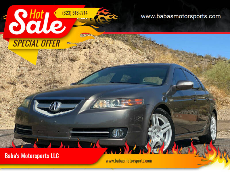 2008 Acura TL for sale at Baba's Motorsports, LLC in Phoenix AZ