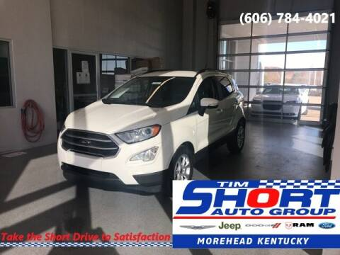 2019 Ford EcoSport for sale at Tim Short Chrysler in Morehead KY