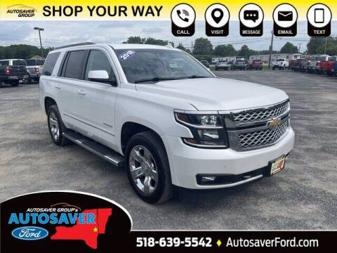 2018 Chevrolet Tahoe for sale at Autosaver Ford in Comstock NY