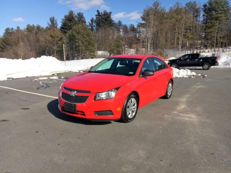 2014 Chevrolet Cruze for sale at Jack Mansur's Auto LLC in Pelham NH