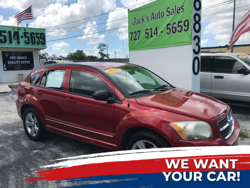 2010 Dodge Caliber for sale at Jack's Auto Sales in Port Richey FL
