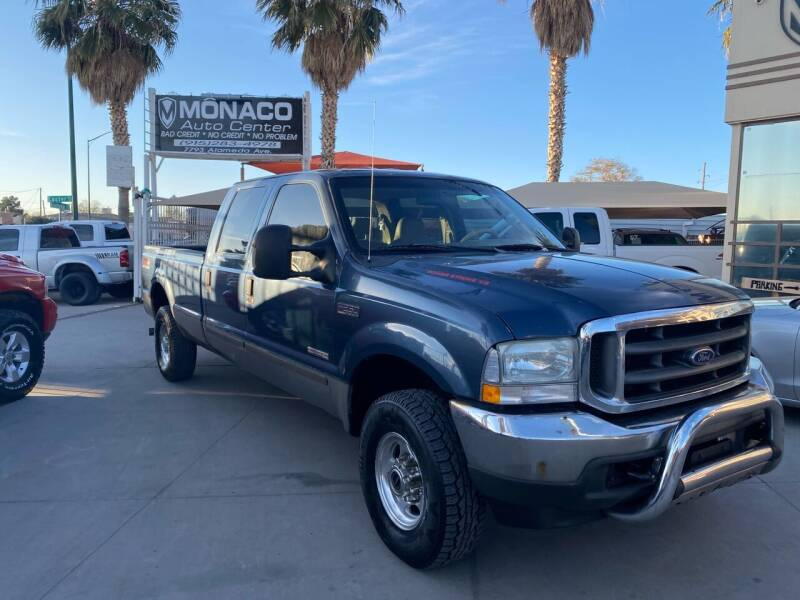 2004 Ford F-250 Super Duty for sale at Monaco Auto Center LLC in El Paso TX