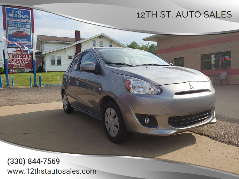 2015 Mitsubishi Mirage for sale at 12th St. Auto Sales in Canton OH