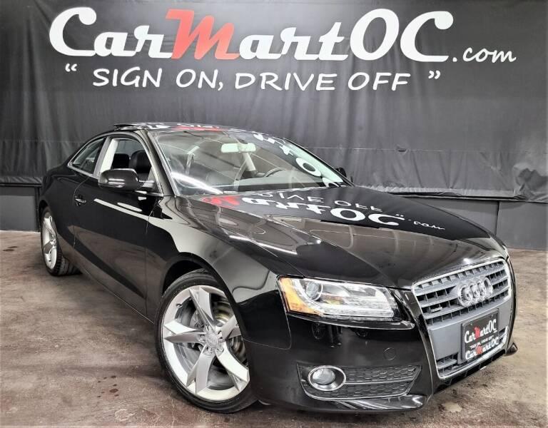 2010 Audi A5 for sale at CarMart OC in Costa Mesa, Orange County CA