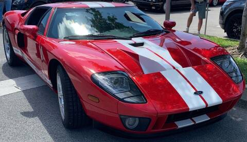 2005 Ford GT for sale at Berliner Classic Motorcars Inc in Dania Beach FL