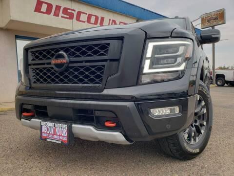 2020 Nissan Titan for sale at Discount Motors in Pueblo CO