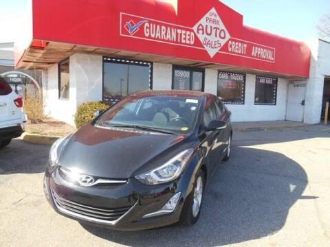 2016 Hyundai Elantra for sale at Oak Park Auto Sales in Oak Park MI