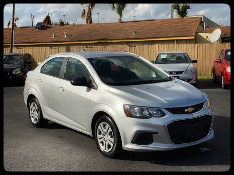2017 Chevrolet Sonic for sale at ASTRO MOTORS in Houston TX