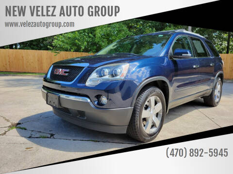 2012 GMC Acadia for sale at NEW VELEZ AUTO GROUP in Gainesville GA
