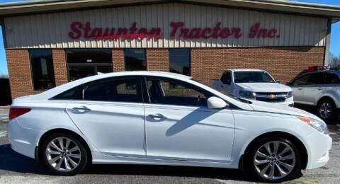 2013 Hyundai Sonata for sale at STAUNTON TRACTOR INC in Staunton VA