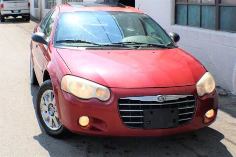 2004 Chrysler Sebring for sale at JT AUTO in Parma OH