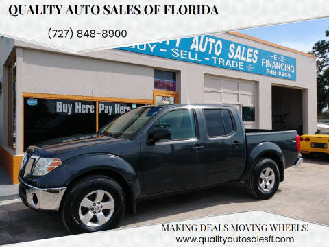 2010 Nissan Frontier for sale at QUALITY AUTO SALES OF FLORIDA in New Port Richey FL