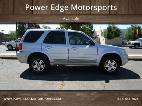 2005 Ford Escape for sale at Power Edge Motorsports in Redmond OR