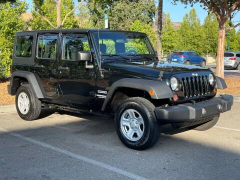 2012 Jeep Wrangler Unlimited for sale at CARFORNIA SOLUTIONS in Hayward CA