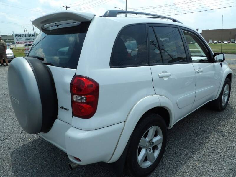 2004 Toyota RAV4 for sale at English Autos in Grove City PA