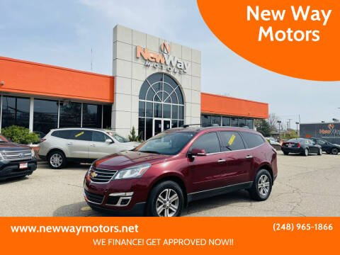 2016 Chevrolet Traverse for sale at New Way Motors in Ferndale MI