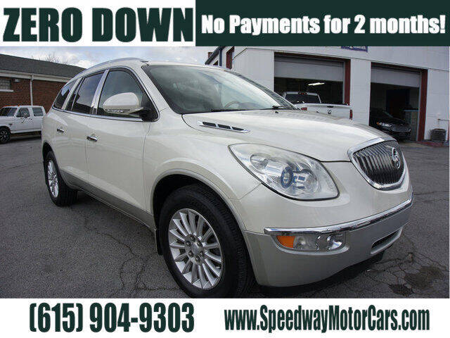 2012 Buick Enclave for sale at Speedway Motors in Murfreesboro TN
