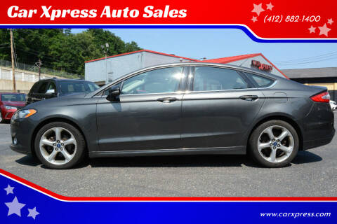2015 Ford Fusion for sale at Car Xpress Auto Sales in Pittsburgh PA