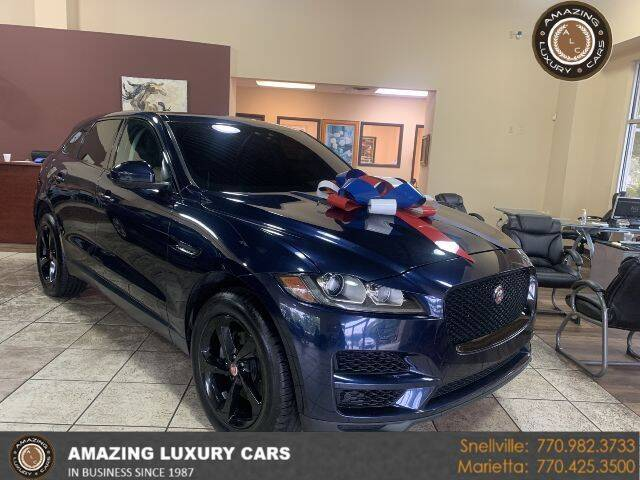 2017 Jaguar F-PACE for sale at Amazing Luxury Cars in Snellville GA