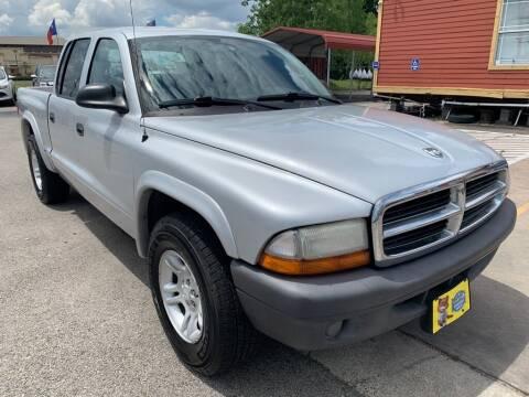 2004 Dodge Dakota for sale at JAVY AUTO SALES in Houston TX
