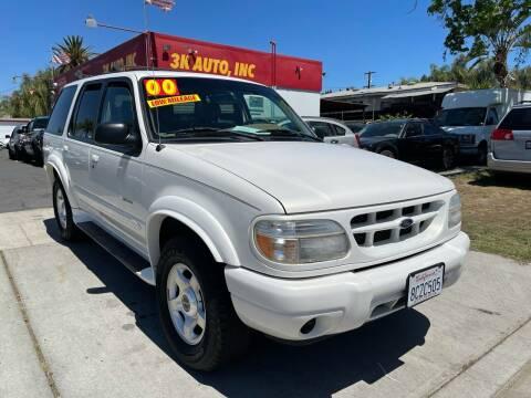 2000 Ford Explorer for sale at 3K Auto in Escondido CA