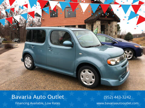 2010 Nissan cube for sale at Bavaria Auto Outlet in Victoria MN
