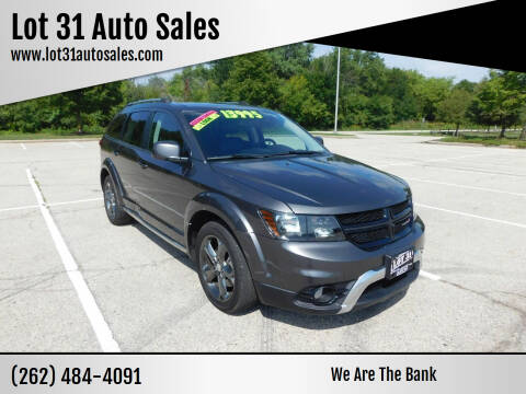 2014 Dodge Journey for sale at Lot 31 Auto Sales in Kenosha WI