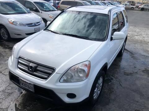 2005 Honda CR-V for sale at 101 Auto Sales in Sacramento CA