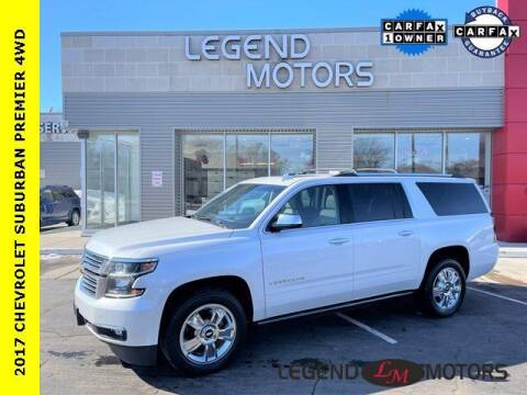 2017 Chevrolet Suburban for sale at Legend Motors of Detroit - Legend Motors of Waterford in Waterford MI