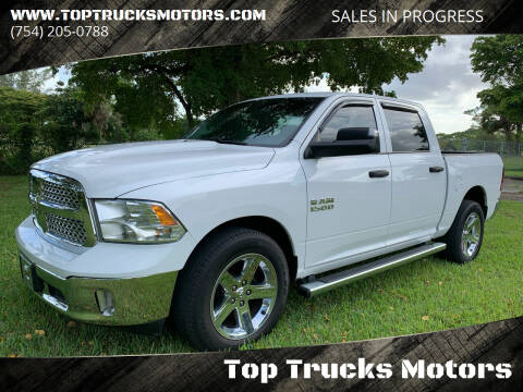 2016 RAM Ram Pickup 1500 for sale at Top Trucks Motors in Pompano Beach FL