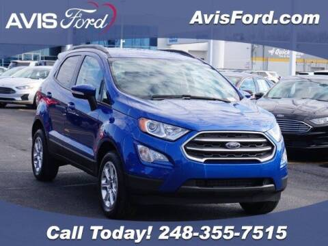 2019 Ford EcoSport for sale at Work With Me Dave in Southfield MI