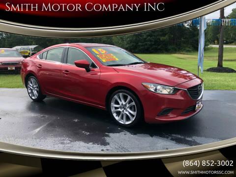 2015 Mazda MAZDA6 for sale at Smith Motor Company INC in Mc Cormick SC