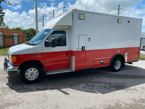 2006 Ford E-Series Chassis for sale at Ultimate Dream Cars in Wellington FL
