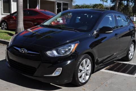2013 Hyundai Accent for sale at STEPANEK'S AUTO SALES & SERVICE INC. in Vero Beach FL