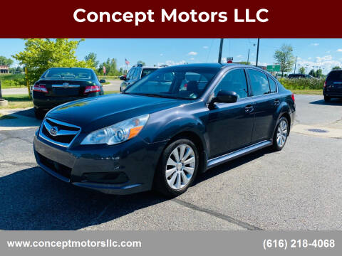 2011 Subaru Legacy for sale at Concept Motors LLC in Holland MI