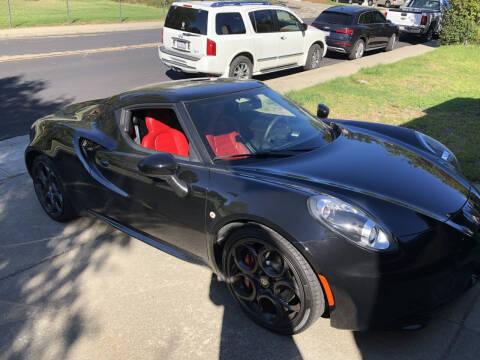 2015 Alfa Romeo 4C for sale at California Diversified Venture in Livermore CA