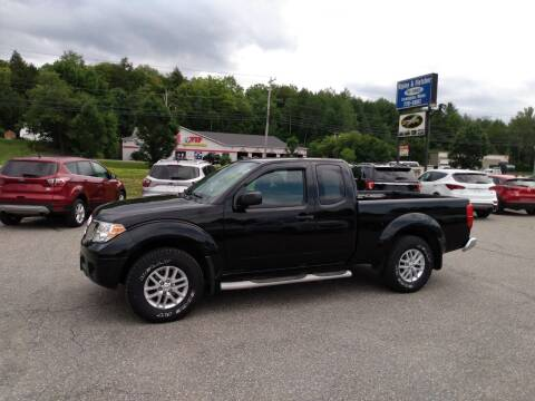 2016 Nissan Frontier for sale at Ripley & Fletcher Pre-Owned Sales & Service in Farmington ME
