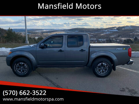 2019 Nissan Frontier for sale at Mansfield Motors in Mansfield PA