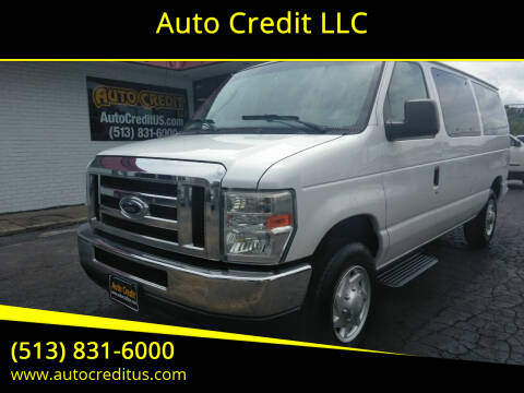 2011 Ford E-Series Wagon for sale at Auto Credit LLC in Milford OH