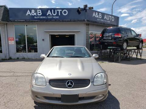 2003 Mercedes-Benz SLK for sale at A & B Auto in Lakewood CO