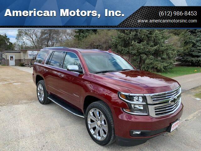 2017 Chevrolet Tahoe for sale at American Motors, Inc. in Farmington MN