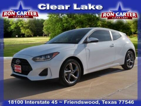 2019 Hyundai Veloster for sale at Ron Carter  Clear Lake Used Cars in Houston TX