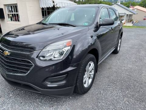2016 Chevrolet Equinox for sale at JM Auto Sales in Shenandoah PA